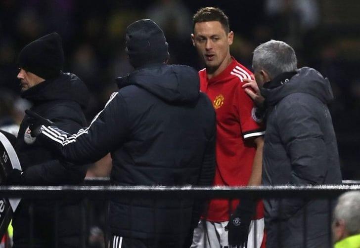 Феллаини получил травму иможет пропустить матч против Арсенала