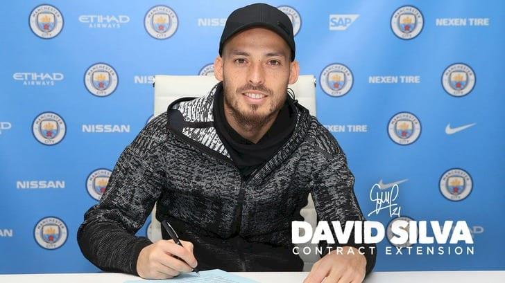 Давид Сильва подписал новый договор с«Манчестер Сити»