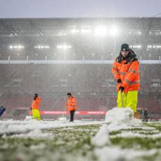 """Матч """"Кельн"""" – """"Фрайбург"""" могут отменить из-за сильного снегопада"""