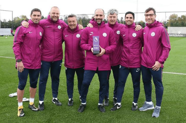 «Манчестер Сити» одержал 16-ю победу подряд вчемпионате Британии, обыграв «Тоттенхэм»