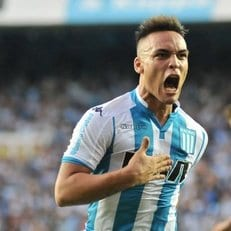 """Лаутаро Мартинес может остаться в """"Расинге"""" до конца 2018 года"""