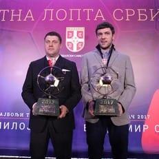 Владимир Стойкович признан футболистом года в Сербии, Милоевич - лучший тренер