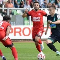 Коркишко прекрасно проявил себя в матче против лидера чемпионата Турции