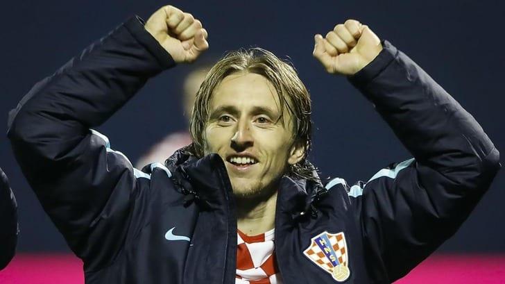 Модрич вшестой раз получил признание игроком года вХорватии