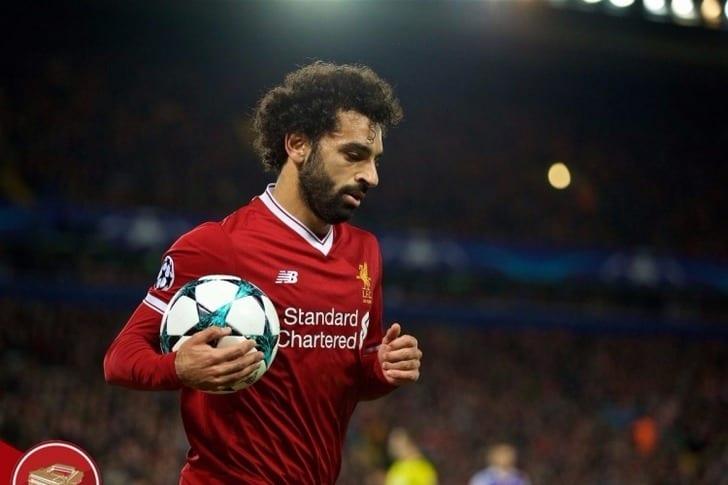 Игрок «Ливерпуля» Салах выбыл надве недели из-за травмы