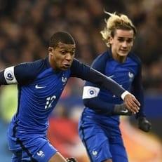 Сборная Франции сыграет с Россией 27 марта