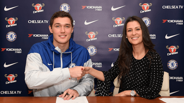 Андреас Кристенсен продлил договор с«Челси»
