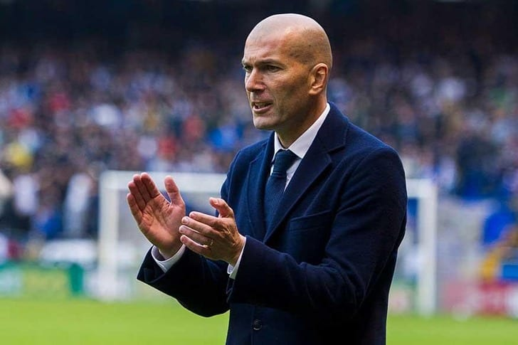 Зидан признан лучшим тренером Франции в 2017-ом