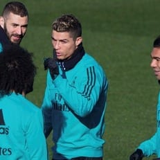 """Роналду, Бензема и Бэйл не попали в заявку """"Мадрида"""" на первый матч кубка Испании"""