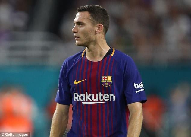 Защитник «Барселоны» Вермален получил еще одну травму