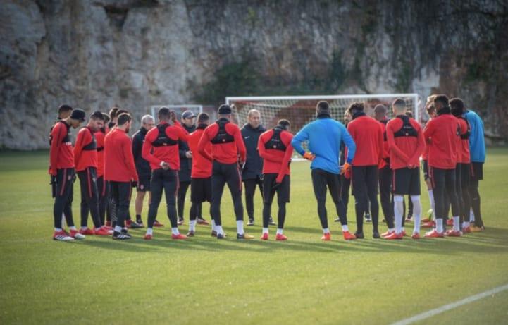 «Марсель» и«Монако» сыграли вничью