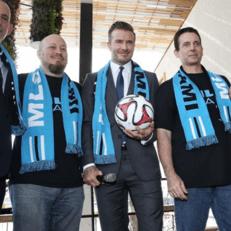 Клуб Дэвида Бекхэма официально принят в MLS