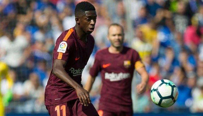 Дембеле возвратится всостав Барселоны наследующей неделе