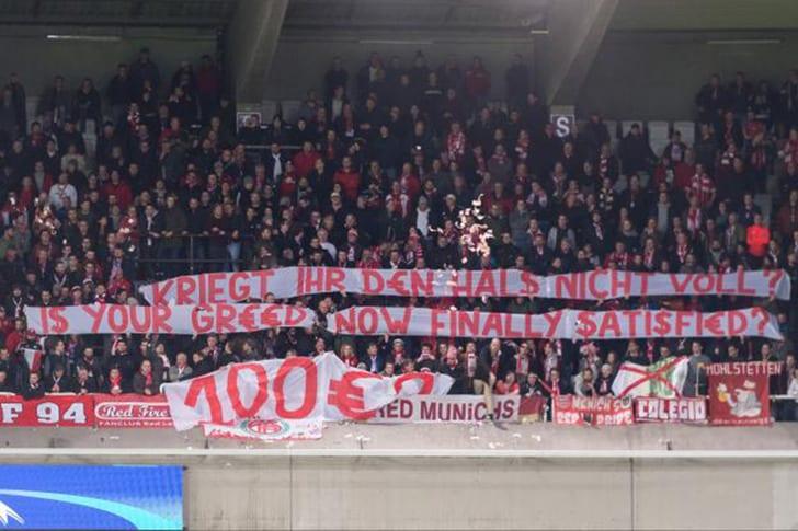 УЕФА обязал «Андерлехт» компенсировать фанатам «Баварии» по30евро