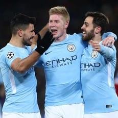 """""""Манчестер Сити"""" добыл самую крупную гостевую победу в плей-офф ЛЧ для Англии"""