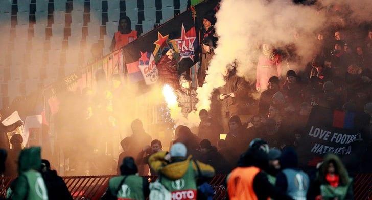 Лига Европы: «Црвена Звезда» иЦСКА разошлись миром