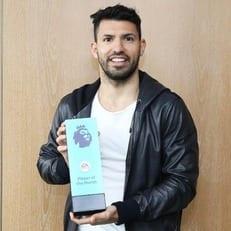 Агуэро признан лучшим игроком января в АПЛ