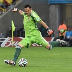 Давид Оспина травмировался в матче за сборную Колумбии