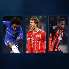 Фред номинирован на звание игрока недели Лиги чемпионов