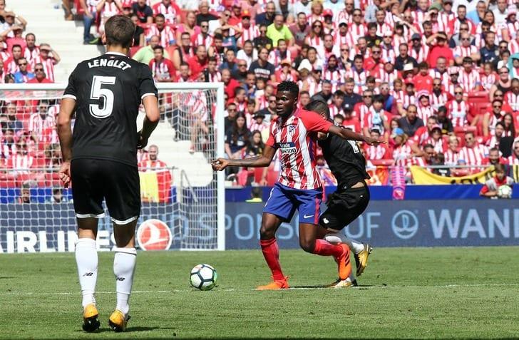 Хет-трик Гризманна принес «Атлетико» победу над «Севильей»