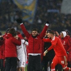 """""""Милан"""" не проигрывает уже 13 матчей кряду"""