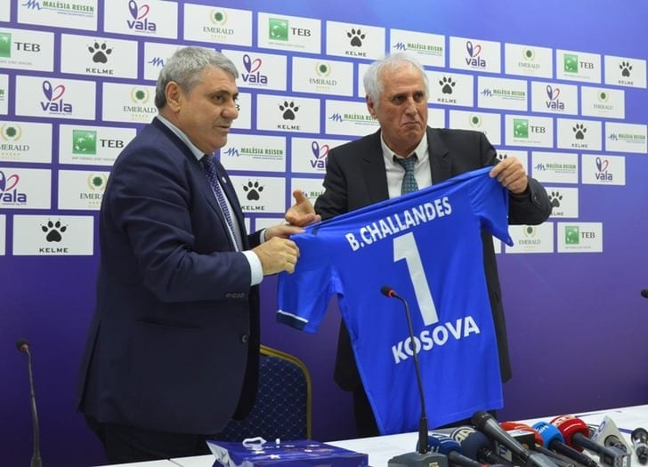 Бернар Шалланд возглавил сборную Косово