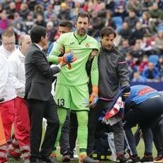 Диего Лопес попал в больницу с травмой головы