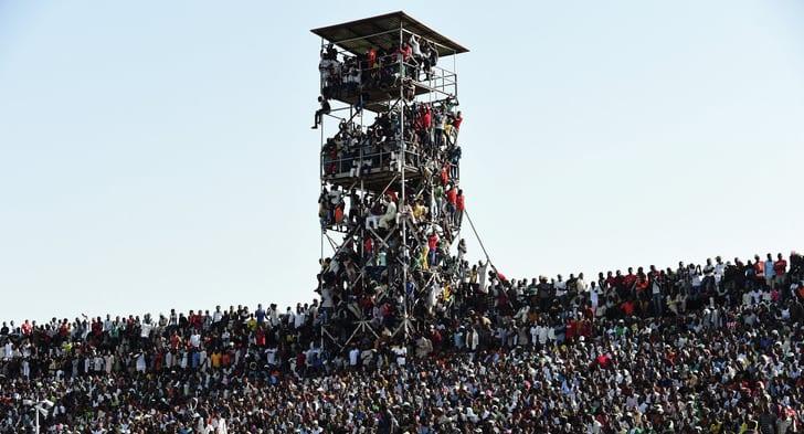 Стадион в Кадуне во время матча сборных / Фото: Getty Images