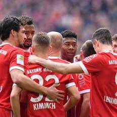 """""""Бавария"""" забила 50 голов в последних восьми домашних матчах с """"Гамбургом"""""""