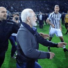 Чемпионат Греции приостановили из-за президента ПАОКа