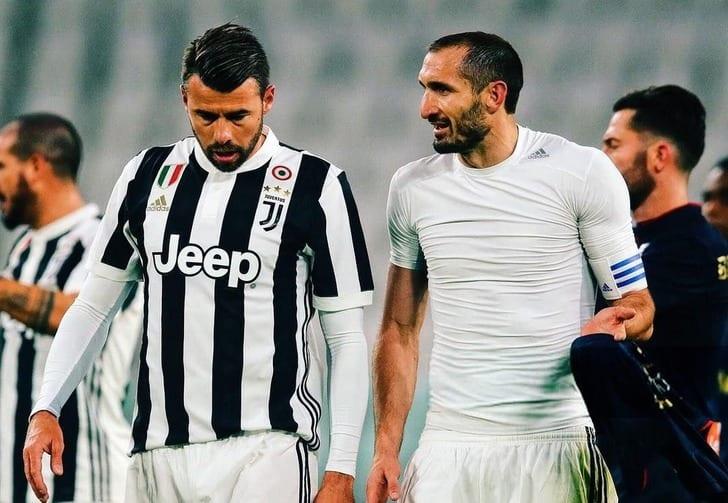 Джорджио Кьеллини и Андреа Бардзальи, Juventus FC