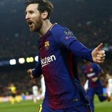 Лионель Месси отметился 100 голом в Лиге чемпионов