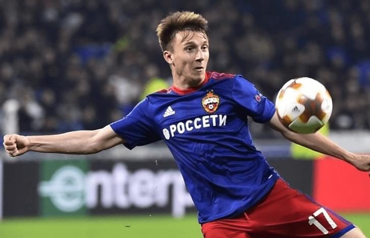 Александр Головин, uefa.com