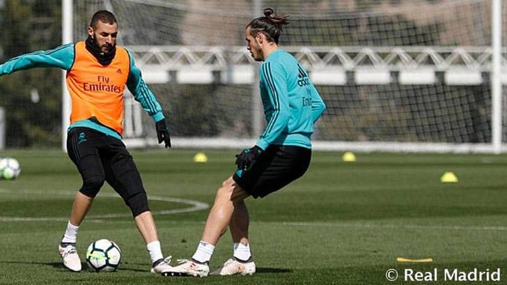"""Карим Бензема и Гарет Бэйл, фото """"Реал Мадрид"""""""