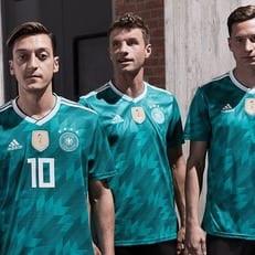 Adidas представила формы Испании, Бельгии и Германии на ЧМ-2018