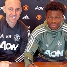 МЮ подписал контракт с 17-летним талантом из Бельгии