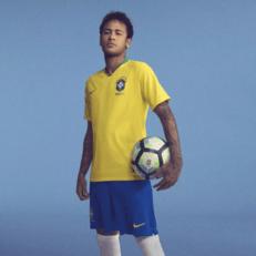 Бразилия представила форму на ЧМ-2018