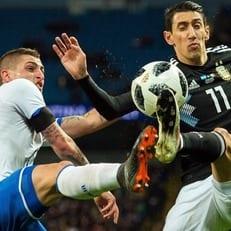 Аргентина без Месси обыграла сборную Италии