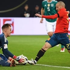Германия и Испания сыграли вничью