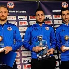 Мхитарян признан игроком года в Армении
