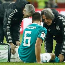 Сами Хедира получил повреждение