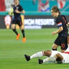 Модрич пропустит игру с Мексикой