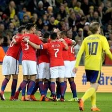 Чили минимально обыграла сборную Швеции