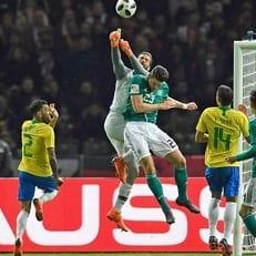 Германия прервала свою 22-матчевую серию без поражений