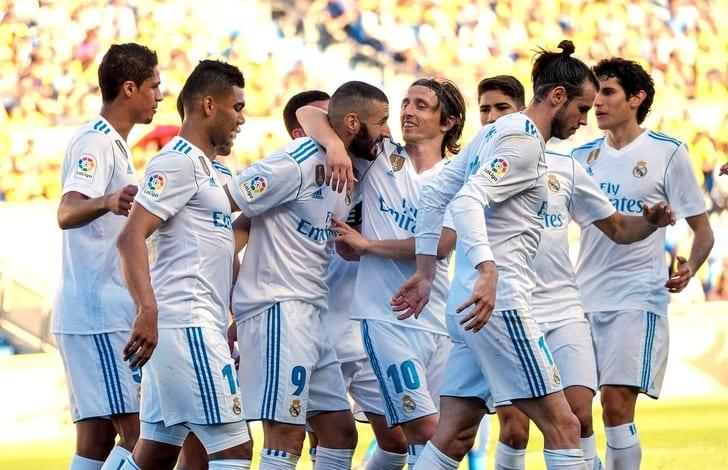 Реал благодаря двум голам спенальти крупно победил Лас-Пальмас