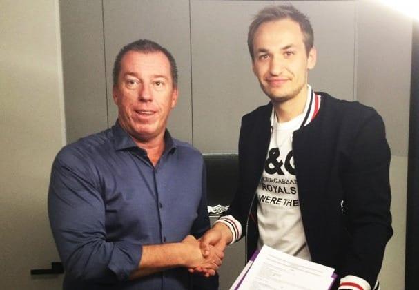 Евгений Макаренко— игрок «Андерлехта»