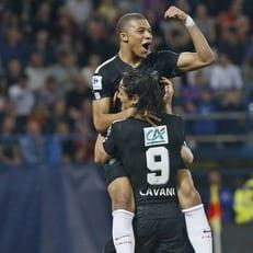 ПСЖ уверенно вышел в финал кубка Франции