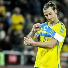 Сборная Швеции не рассчитывает на Ибрагимовича