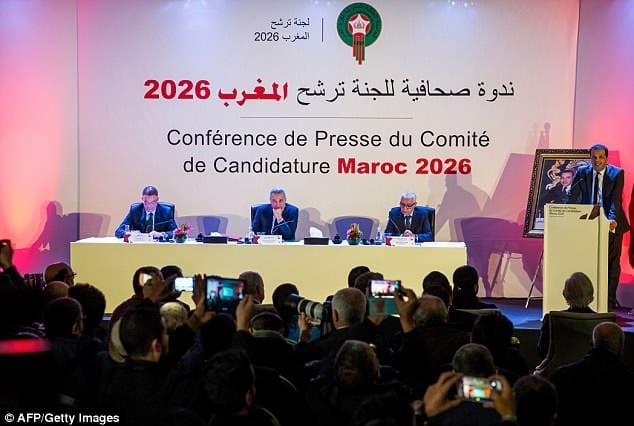 Делегация Марокко, AFP