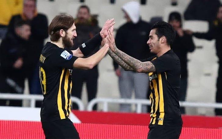 Чигринский помог АЕКу выиграть чемпионат Греции